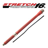 STRETCH 16 Fluted AR15 Barrel (Elite Red)