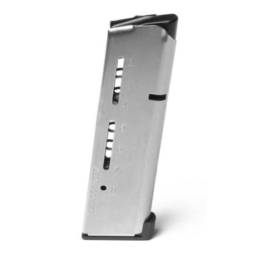 Wilson Combat 1911 Elite Tactical Magazine - .45ACP - 8 Rounds - 500A-HD - Stainless Finish
