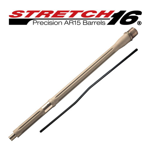 Stretch 16 Fluted AR15 Barrel (Stainless)