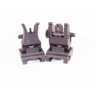 A.R.M.S., Inc #71L Backup Iron Sight Set (BLK)