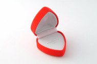 Ring Box : Red Velvet Heart
