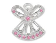 June Birthstone Angel Pin