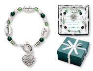 Friendship Laughter Love Irish Expression Bracelet