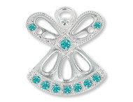December Birthstone Angel Pin