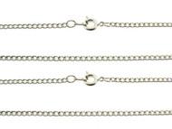 Curb Chain : Rhodium : Price Per Gross