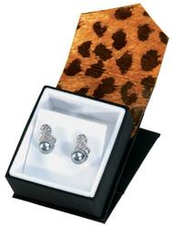 Earring Box : Leopard Print