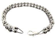 Bicycle Link Chain Bracelet   Small