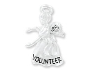Angel Pin For A Special Volunteer