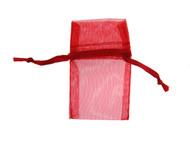 Organza Pouch : 2x2 : Red