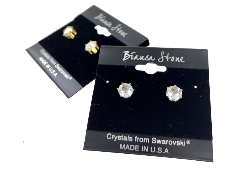 215c22203 Wholesale Swarovski Crystal Elements Stud Earrings : Diamond