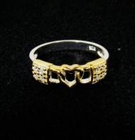 Love Lock .925 Sterling Silver Ring