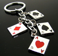 4 Aces Keychain
