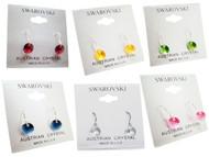Bianca Stone Sterling Silver & Swarovski Crystal Earrings