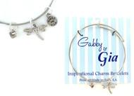 Gabby & Gia Bracelet - Dragonfly