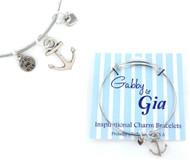 Gabby & Gia Bracelet - Anchor