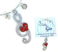 Gabby & Gia Bracelet - Love Note