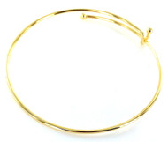 Adjustable Wire Bangle Bracelets
