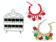 Jingle Jangle Holiday Hoop Earrings