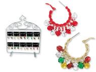 Jingle Jangle Holiday Hoop Earrings