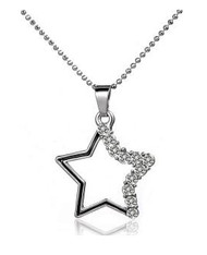 Crystallized Necklace - Star
