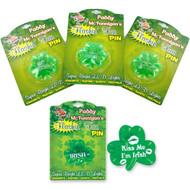 Flashing Fun Irish Theme Pins