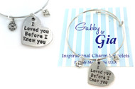 Gabby & Gia Bracelet - Loved You Before I Knew You