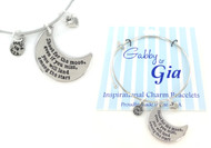Gabby & Gia Bracelet - Shoot for the Moon