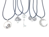 Assorted Cord Necklaces - 50 Pieces