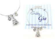 Gabby & Gia Bracelet - Christmas Tree