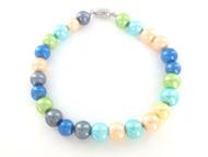 Magnetic Hematite Bracelet - Pastel Colors