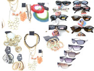 175 Piece Combo Pack - Foster Grant Sunglasses + Bulk Jewelry Lot