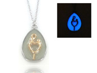 Glow in the Dark Necklace - Mother & Child