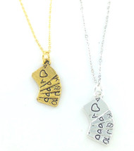Royal Flush Charm Necklaces Wholesale