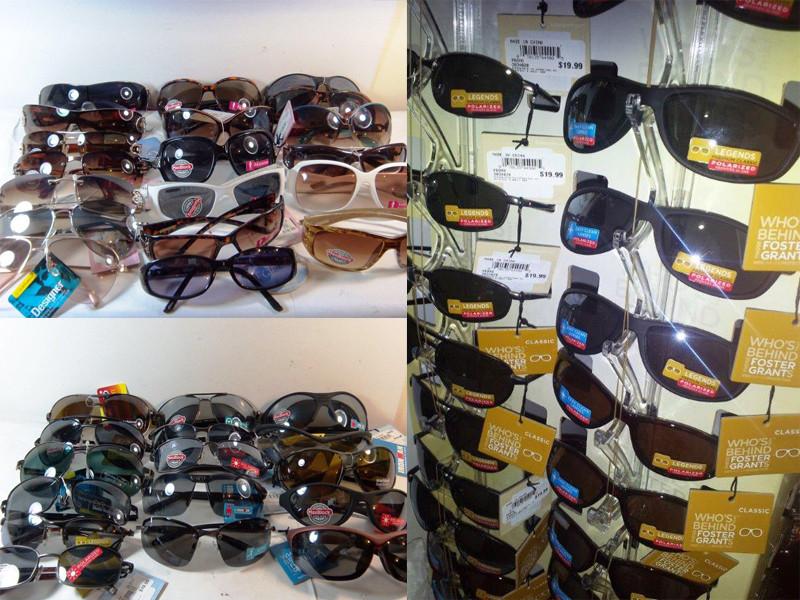fcb10b9b21 Foster Grant Sunglasses Wholesale Lot - 75 Pairs.  599.25  100.00. (You  save  499.25). Image 1. Image 1. Image 2. Image 3. Image 4. See 3 more  pictures