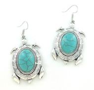Turquoise Sea Turtle Earrings at Wholesale
