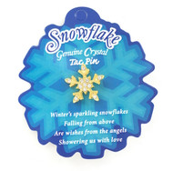 Wholesale Snowflake Tac Pin