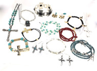 Wholesale Cross Jewelry Lot - 25 Pieces
