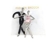 Wholesale Dancing Couple Pin