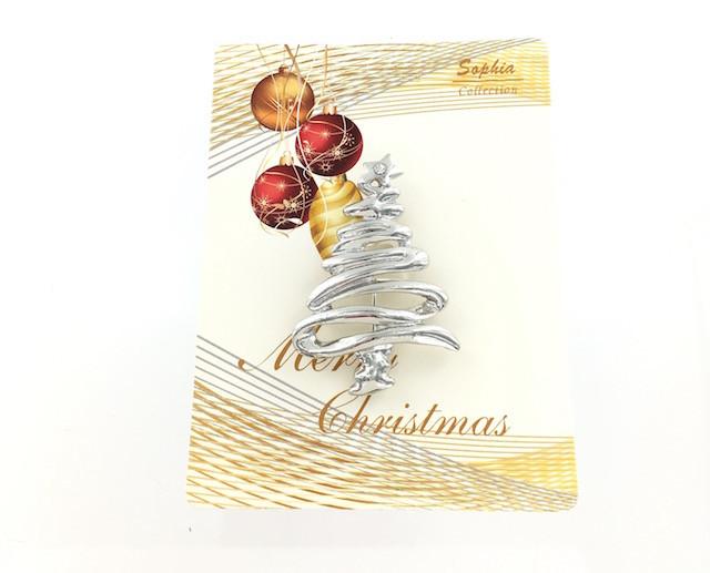Contemporary Christmas Tree.Wholesale Swirl Christmas Tree Pin