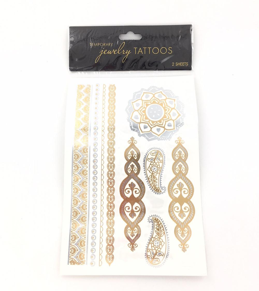 Wholesale Jewelry Tattoos Paisley