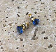 Wholesale Stud Closeout - Sapphire Swarovski Crystal
