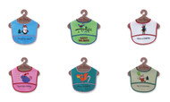 Wholesale EZ Wipe Holiday Baby Bibs