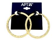 Wholesale Name Brand Diamond Cut Hoop Earrings