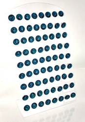 Wholesale Dolphin Studs on Display Unit - 36 Pairs