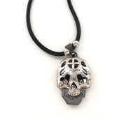 Wholesale Steel Necklace - Sugar Skull