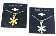 Wholesale Snowflake Necklace