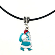 Wholesale Enamel Santa Necklace