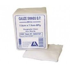Gauze Swabs 100 Pack
