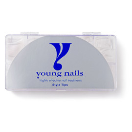 Young Nails Clear Tips 500