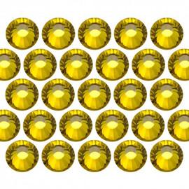 Crystal rhinestones - citrine